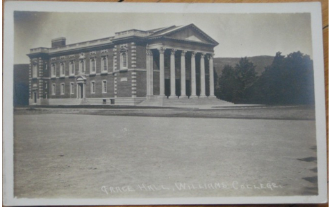 Postcard of Chapin Hall, circa 1910