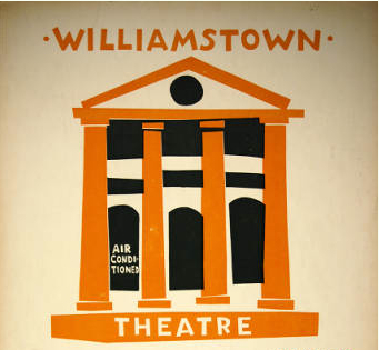 vintage poster from Adams Memorial Theatre