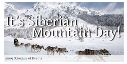Siberian Mountain Day